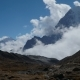 Movement of Clouds Against the Background of the Himalayan Mountains - VideoHive Item for Sale