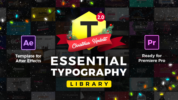 Essential Titles and Lower Thirds for After effects & Premiere - Free