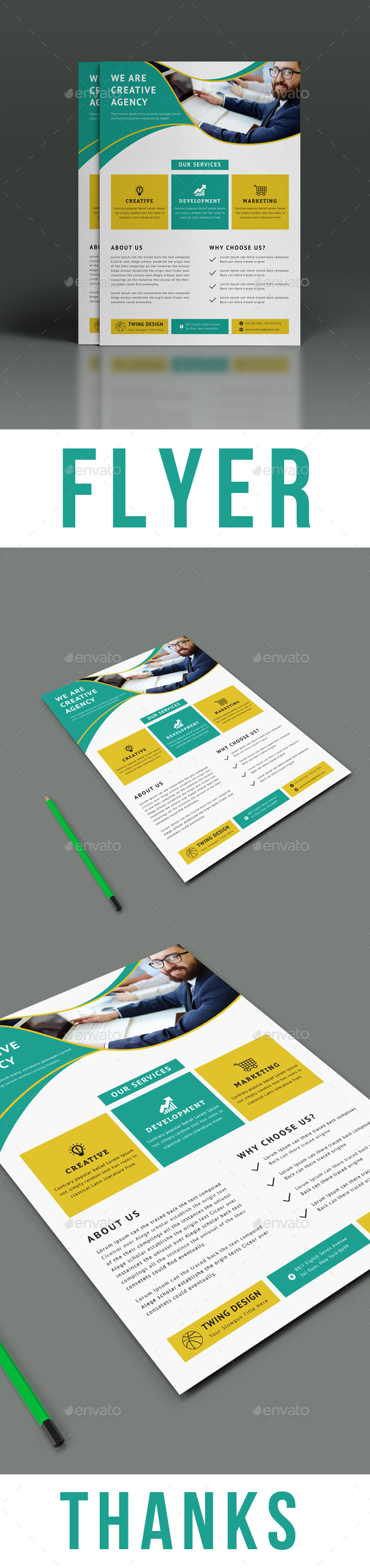 GraphicRiver Flyer 21145216