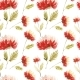 Cute Floral Pattern in the Aster Flower. Motifs - GraphicRiver Item for Sale