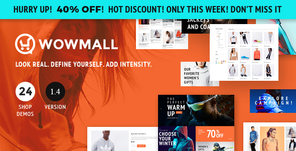 WOWmall: Fastest Responsive WooCommerce WordPress Theme - WooCommerce eCommerce