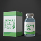 Ampoule Box and Bottle Mock-Up - GraphicRiver Item for Sale