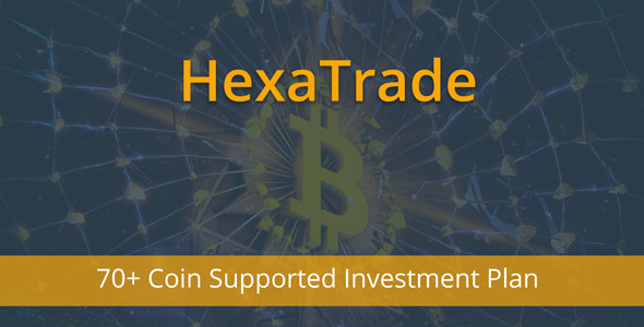 HeXaTrade - Coinpayments Support Investment Platform - CodeCanyon Item for Sale