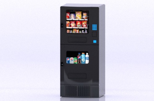 3DOcean Arcade Food Vending Machine 21135567