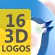 16 Social icons