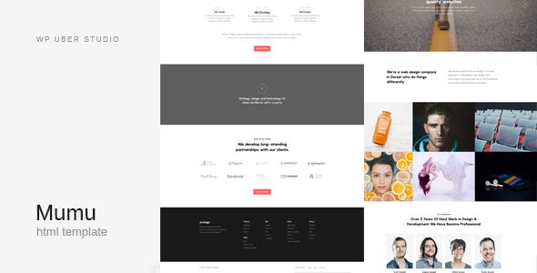 Mumu - Creative Multi-Purpose HTML Template