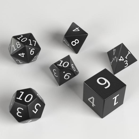 3DOcean RPG Dices set 21145625