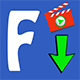 Facebook Video Downloader  With Admob Banner & Interstitial
