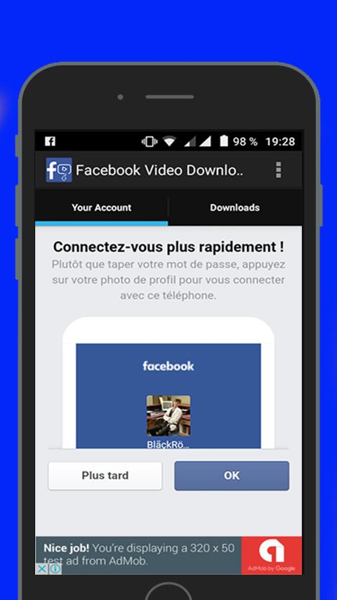 fb video downloader apk ios