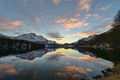 Sunset in Engadin by lake of Sils - PhotoDune Item for Sale