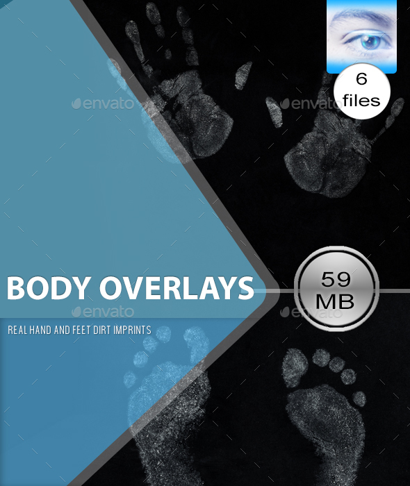 3DOcean Real Body Part Overlay Textures 21146177
