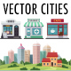 Vector City Building Kit - GraphicRiver Item for Sale