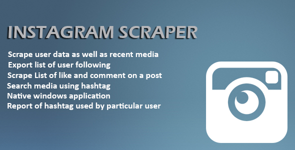 Instagram Scrapper Free Download | Nulled