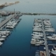 View From the Top on the Bay with Boats - VideoHive Item for Sale