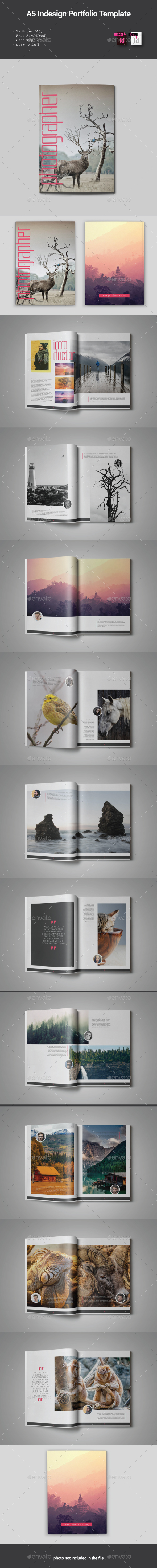 GraphicRiver Photographer Portfolio 21131816