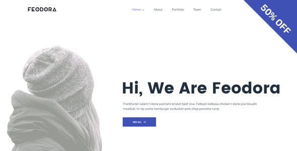 Feodora Creative WordPress Theme
