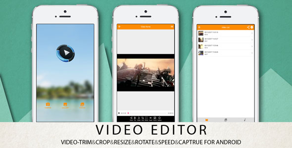 Video Editor - Android Source, AdMob - CodeCanyon Item for Sale