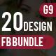 Facebook Cover Bundle - 20 Design - GraphicRiver Item for Sale