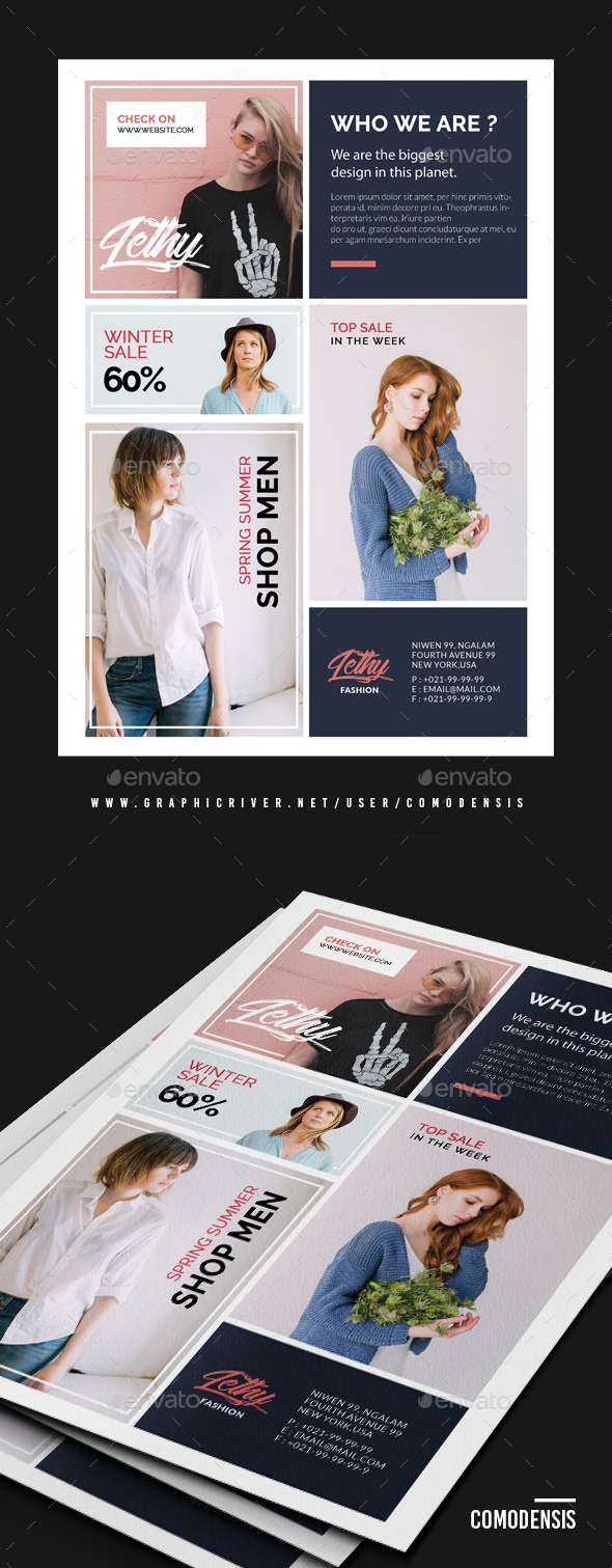 GraphicRiver Fashion Sale Promotion Flyer 21146903
