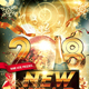 New Year Countdown Party Flyer - GraphicRiver Item for Sale