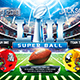 American Football Super Ball Flyer vol.8 - GraphicRiver Item for Sale