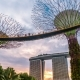 Sunset at the Futuric Gardens By the Bay in Singapore. August 2017 - VideoHive Item for Sale