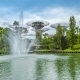 Fountain at Garden By the Bay in Singapore. August 2017 - VideoHive Item for Sale