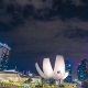 Singapore City Skyline at Night. August 2017 - VideoHive Item for Sale