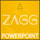 Zagg Annual Report 2017 Powerpoint Template