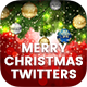 Merry Christmas Twitter Headers - 10PSD