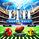 American Football Super Ball Banners