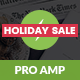AMP Pro Mobile | Mobile Google AMP Template