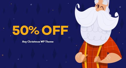 Christmas 50% Sale