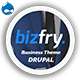 Bizfry - Creative Multipurpose Drupal 8 Theme