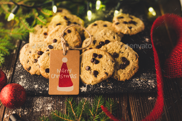 Christmas cookies - Stock Photo - Images