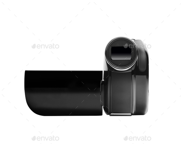 digital video camera - Stock Photo - Images