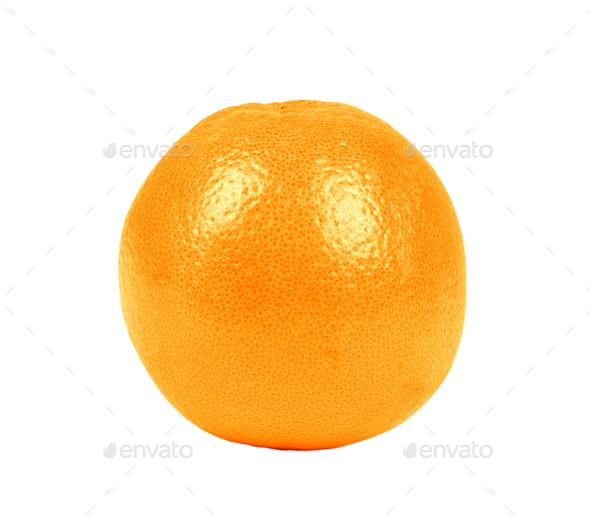 Orange fruit isolated - Stock Photo - Images