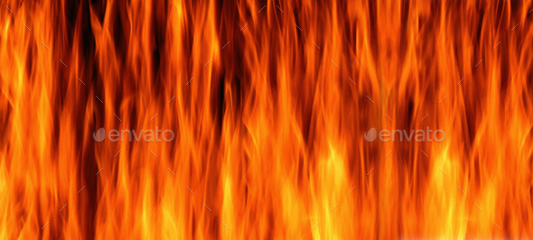 fire flame background and textured - Stock Photo - Images