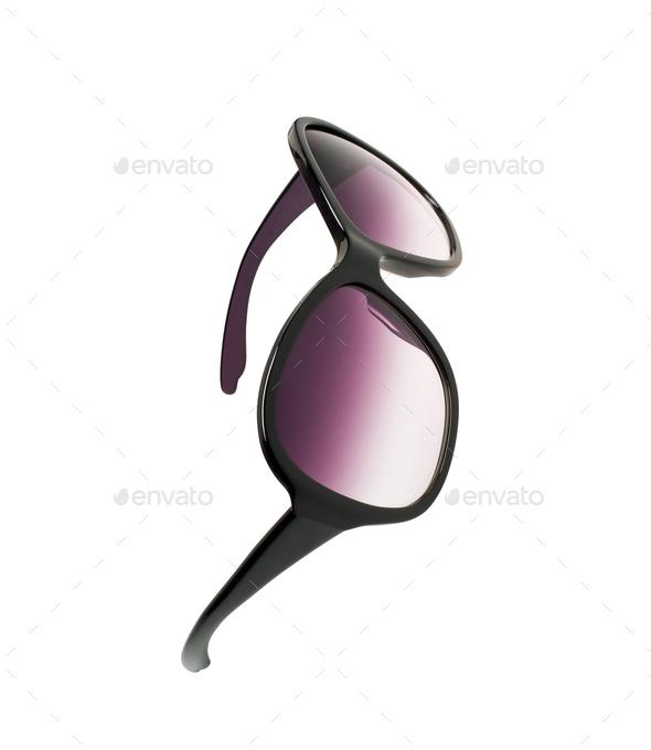 sunglasses isolated on white - Stock Photo - Images