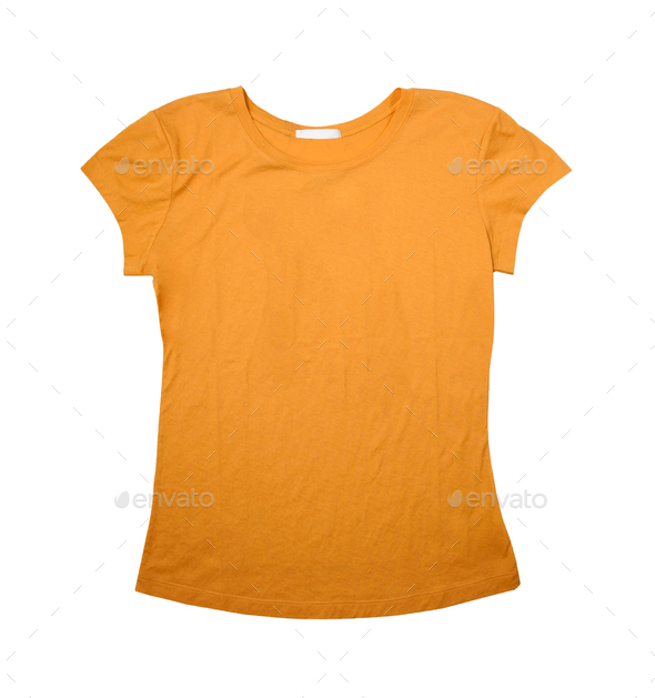 Yellow T-Shirt - Stock Photo - Images