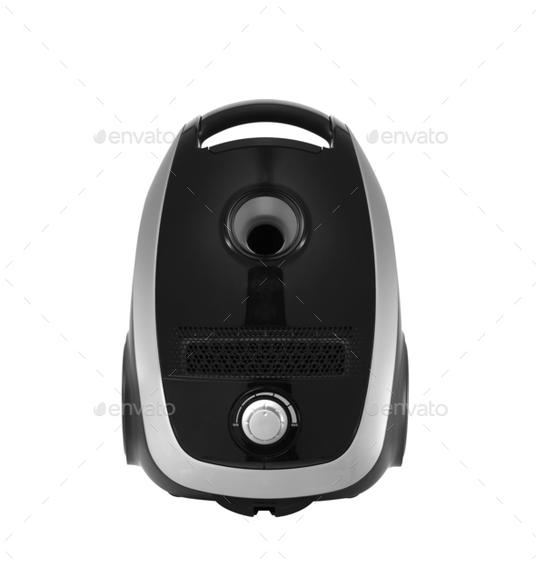 Vacuum cleaner isolated on the white - Stock Photo - Images