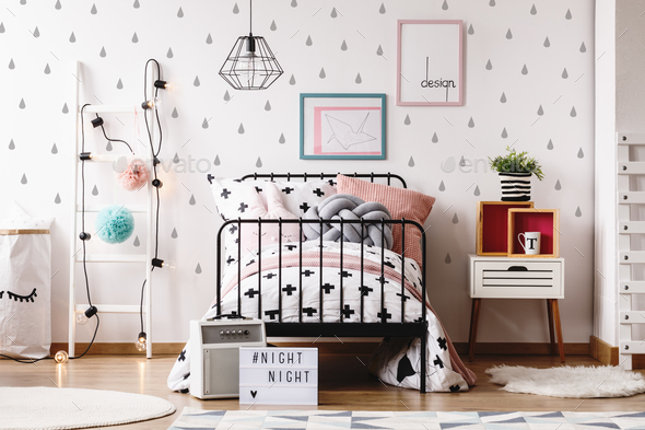 Kids room with colorful toys - Stock Photo - Images