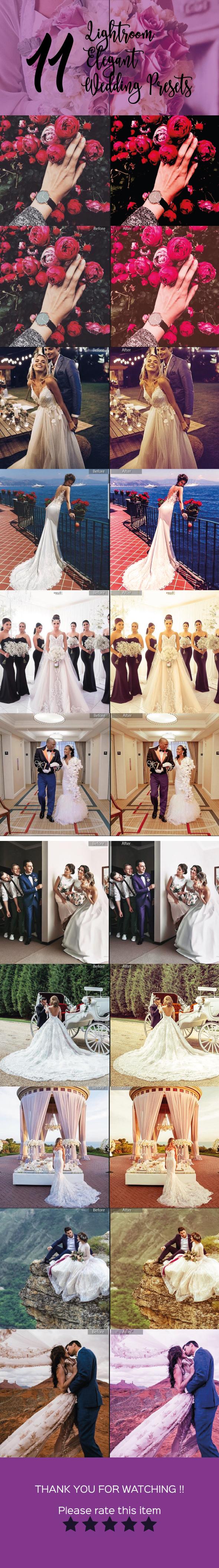 11 Elegant Lightroom Wedding Presets - Wedding Lightroom Presets