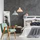 Vintage mint chair in bedroom - PhotoDune Item for Sale