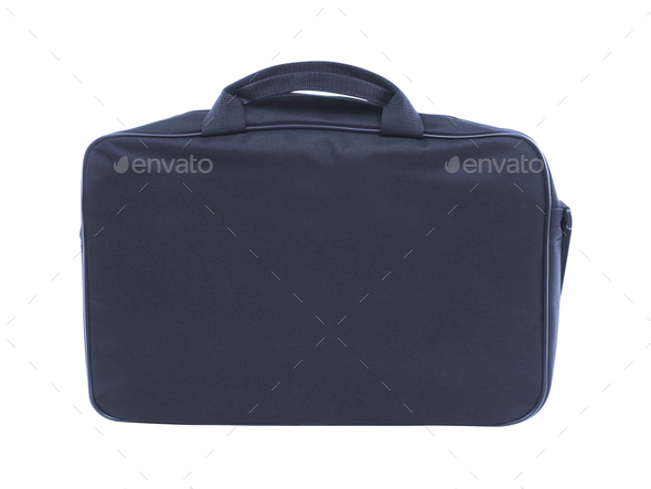 Laptop bag isolated - Stock Photo - Images