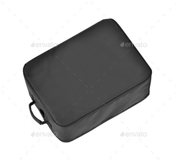 Black bag isolated - Stock Photo - Images