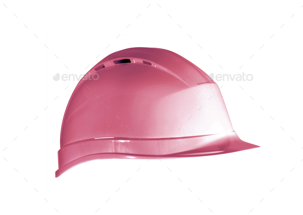 Hard hat isolated - Stock Photo - Images