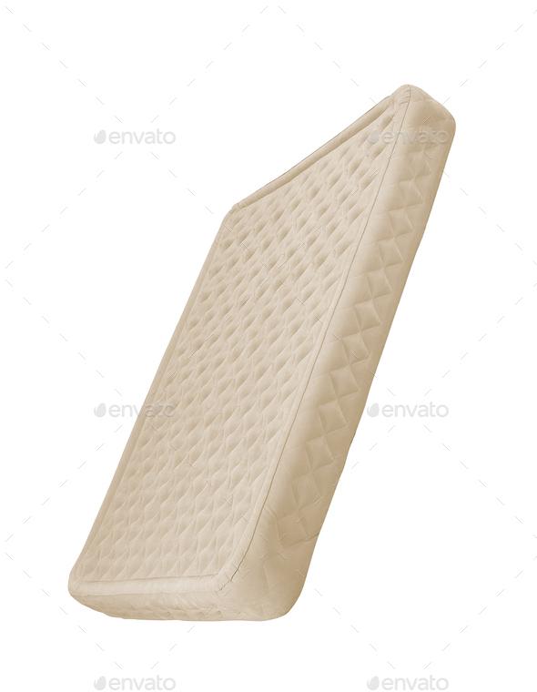 Orthopedic mattress isolated - Stock Photo - Images