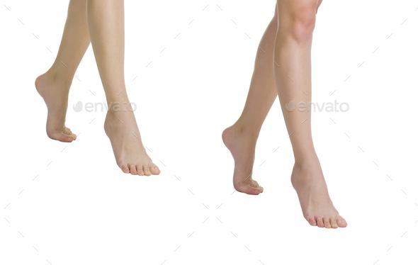 Female legs isolated - Stock Photo - Images