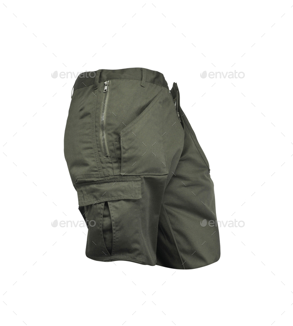 Men's shorts isolated - Stock Photo - Images